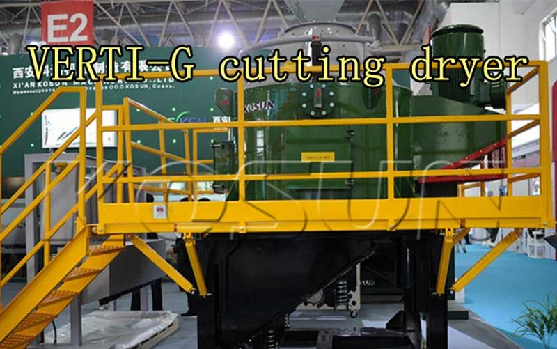 VERTI-G cutting dryer