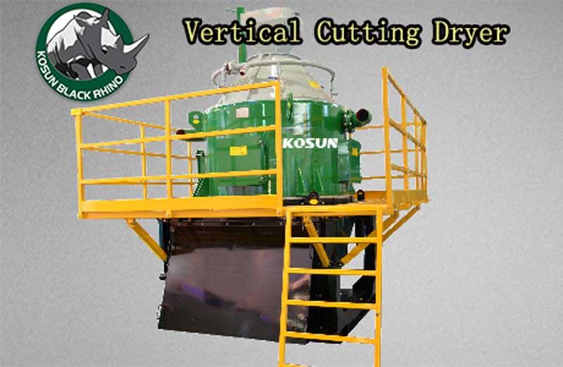 vertical cutting dryer