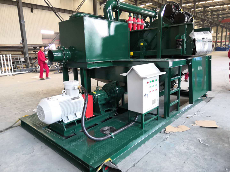 Pilling Slurry Separation Plant