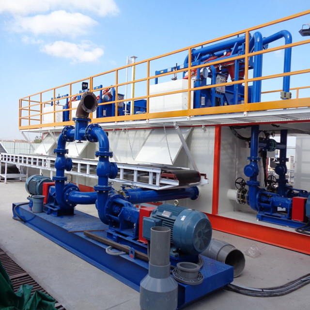 Dredge Dewatering System