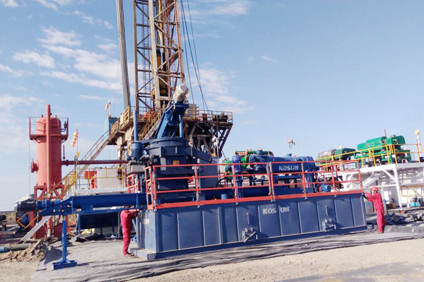 Oilfield Drilling Waste Mud Treatment Equipment